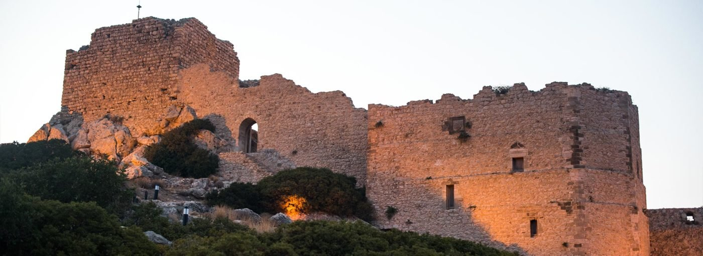 Rhodes Castle of Kritinia