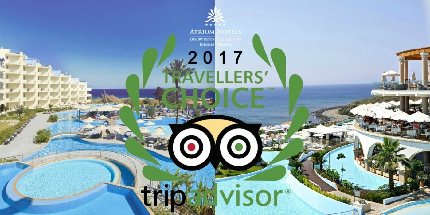TripAdvisors Travelers Choice Award 2017