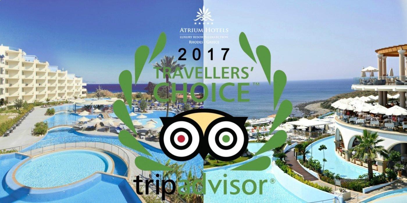 TripAdvisors Travelers Choice Award 2017